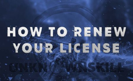 How to renew your license